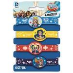 Bracelets  -Super Hero Girls/4 Pack