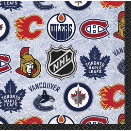 Beverage Napkins-NHL-16pk-2ply