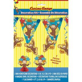 Decoration Kit - Curious George