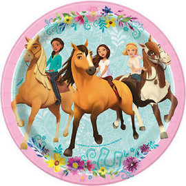 Beverage Paper Plates-Spirit Riding Free-8pk-7""
