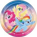 """Luncheon Paper Plates-My Little Pony-8pk-9"""""""