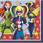 Beverage Napkins-Super Hero Girls-16pk-2ply