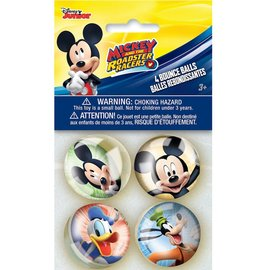 Bounce Balls- Mickey Mouse-4pk