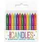 Candles-Happy Biirthday-Assorted-24pk
