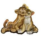 Foil Balloon-Supershape-Lion King-Simba and Nala