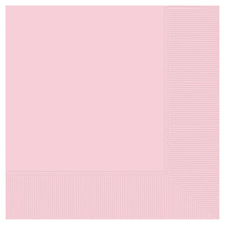Luncheon Napkins-Blush Pink-50pk-2ply