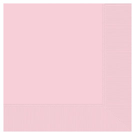 Beverage Napkins-Blush Pink-50pk-2ply