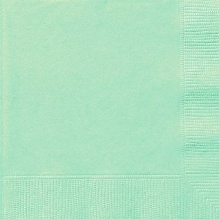 Luncheon Napkins-Cool Mint-50pk-2ply