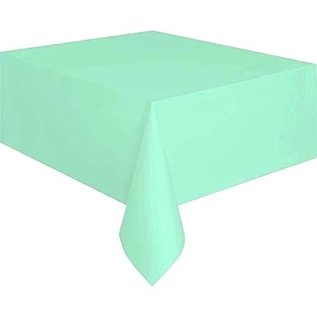 "Tablecover-Cool Mint-Recatangular-Plastic-54"" x 108"""