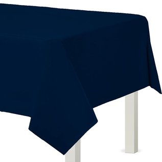 "Tablecover-True Navy-Rectangular-Plastic-54"" x 108"""