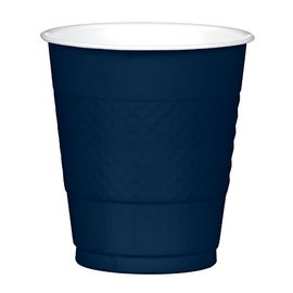 Cups-Plastic-True Navy-20pk-12oz