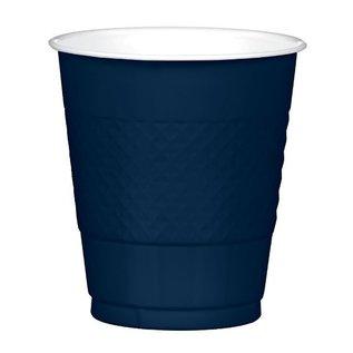 Cups-Plastic-True Navy-20pk-12oz