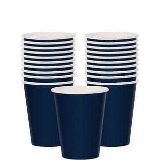 Cups-Paper-True Navy-20pk-9oz