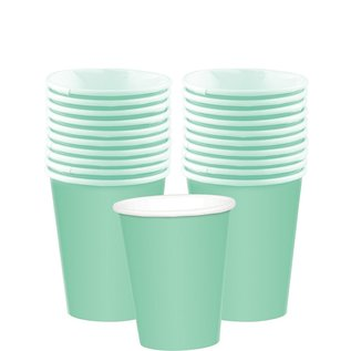Cups-Paper-Cool Mint-20pk-9oz