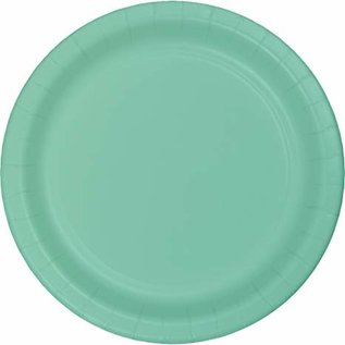 Beverage Paper Plates-Cool Mint-20pk-7""