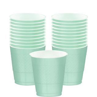 Cups-Plastic-Cool Mint-20pk-12oz.