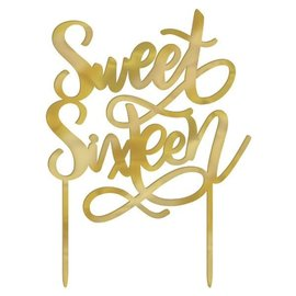 Cake Topper- Sweet Sixteen
