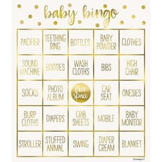 Baby Shower Games-Bingo Game-8 Cards