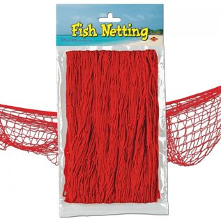Fish Netting-Red-4ft x 12ft