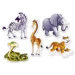 Cutouts-Mini-Jungle Animals-10pcs