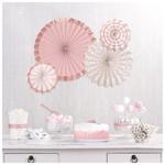 Paper Fans-Blush Wedding-4pk