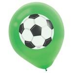 """Balloons-Latex-Soccer-5pk-12"""""""