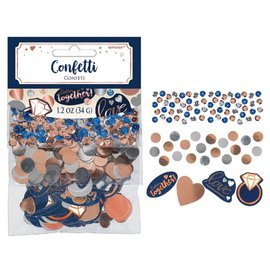 Confetti-Navy Bride-34g-1.2 OZ