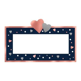 Place Crads-Navy Bride-25pk