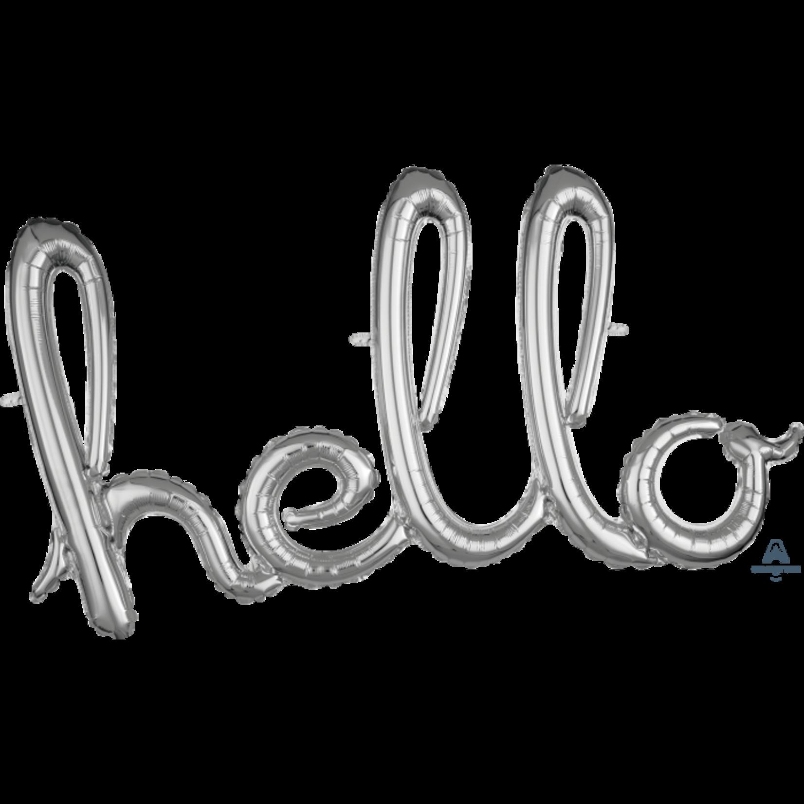 Air-Filled-Foil-Hello-Silver