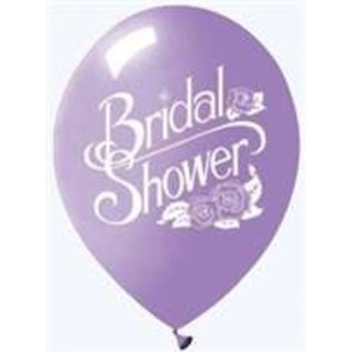 "Balloons- Latex-Bridal shower 12"" (6 Pack)"