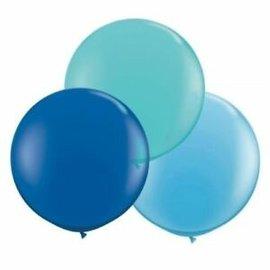 """Balloon- Latex- Blue- 24"""""""