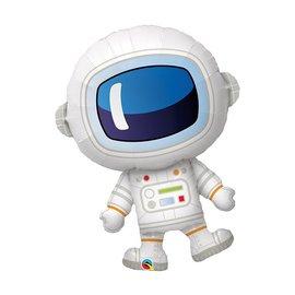 """Foil Balloon-Super Shape Adorable Astronaut-37"""""""