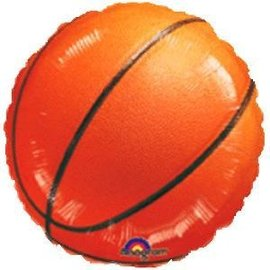 Foil Balloon-Basketball-18""