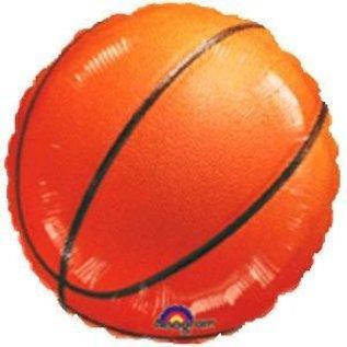 "Foil Balloon-Basketball-18"""