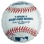"Foil Balloon-Baseball-18"""