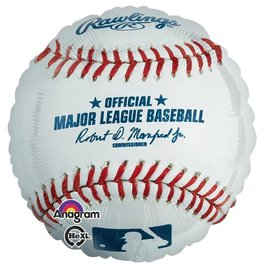 Foil Balloon-Baseball-18""
