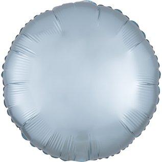 "Foil Balloon - Satin Luxe Circle Pastel Blue 18"""