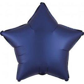 """Foil Balloon - Satin Luxe Navy 18"""""""