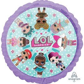 "Foil Balloon- LOL /17"""