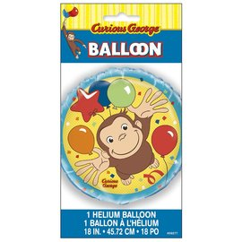 Foil Balloon-Curious George-18""