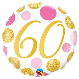 Foil Balloon-60th Birthday-18""