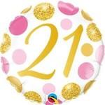 """Foil Balloon-21st Birthday-18"""""""