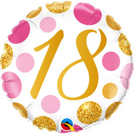 "Foil Balloon-18th Birthday-18"""