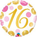 "Foil Balloon-16th Birthday-18"""