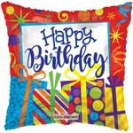 Foil Balloon -Happy Birthday