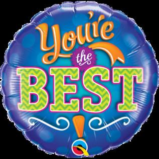 """Foil Ballon 18""""-You're the Best"""
