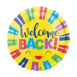 Foil Balloon - Welcome Back - 18""