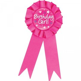 Award Ribbon- Birthday Girl