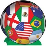 Centerpiece International World Cup Soccer