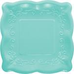 Beverage Paper Plates-Robin Egg Blue